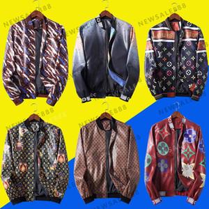 Neue Mens-Leder-Jacken-Motorrad-Mode Marken-Jacke Männer Winter Herbst Slim Fit Herren Designer Freizeitjacke dünne plus Größe M-3XL
