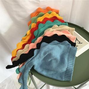 Children Cartoon Knit Hats Kids Long Tail Dinosaur Baby Beanies Fashion Newborn Knitting Hat Fall Winter Boys Girls Warm Caps DHE4570