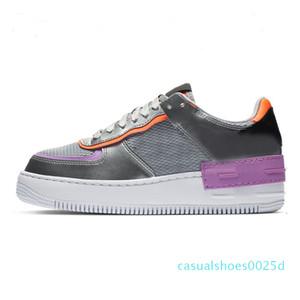 LlMen Mulheres sapatos de plataforma Chaussures calçados casuais Preto Aurora Triplo Branco Coral rosa pálido Sapphire Trainers Skate das sapatilhas dos homens 25C