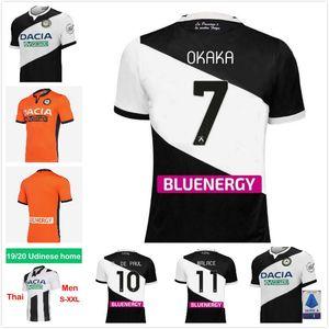 20 21 Maglia Udinese Calcio Soccer Jersey 2020 2021 Home Kit White Blow Black Paul Jankto 2019 Ter Avest Pezzella Bezzella