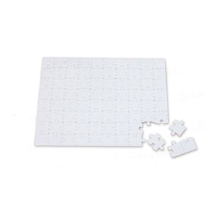 Blank Dye Sublimation Puzzle Child Adult Personality DIY Heat Transfer Puzzles Customized A3 A4 A5 Party Gifts Paper Jigsaw A09