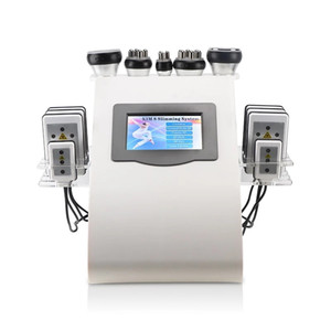New Slimming Machine 40K Ultrasonic liposuction Cavitation 8 Pads RF Vacuum Skin Care Salon Spa Weight Loss Machine