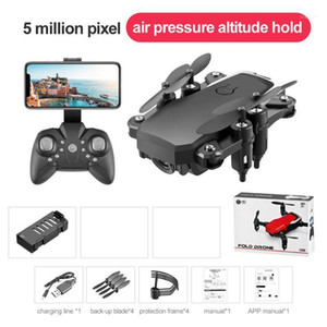 LF606 Wifi FPV RC Drone Quadcopter with 0.3MP 2MP 5MP 4K Camera Helicopter Toy 63HE1
