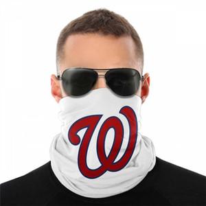 Washington Bandana Luxury Designs Half Face Masks Multifunctional Bandana Outdoor Scarf