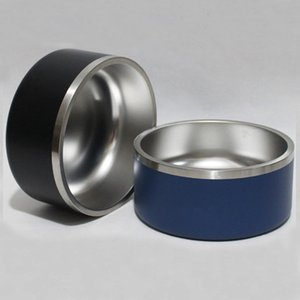 Bacias de cão 32 oz Tumblers de aço inoxidável de aço duplo Vácuo isolado grande capacidade 32oz animais de estimação Cups Boomer Dog Tigela Canecas