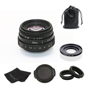 f1.6 35mm de montaje C cámara CCTV lente II C montaje de anillo de N1adapter Para Nikon1