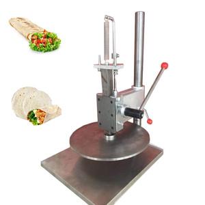 Prix en gros commercial en acier inoxydable 25cm Petite pâte manuelle Pressage Machine / Machine de pâte à pizza