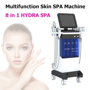 8 in 1 Oxygen Spray Gun facial machine hydro care galvanica facial instrument for skin hydration extraction and firming with BIO Photon