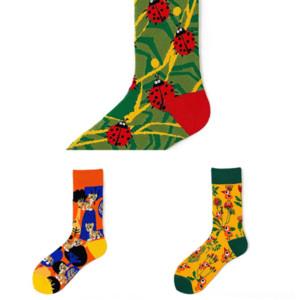 TxHJ MODA Men Sport Socks MULAYA Professional Basketball Compression sock run Moisture Stripes Breathable Perspiration shoe Absorption