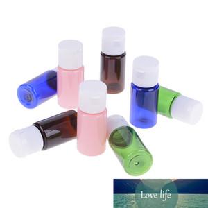 2 pièces de bouteilles PET bouteille en plastique avec Flip Top Cap Bouteille Voyage Portable 4 couleurs au choix à chaud Vente 10ml