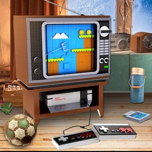 71301 2998 adet Film ve Televizyon Oyunları Serisi Süper Nes Oyun Konsolu Oyuncak Yapı Taşları Oyuncaklar Uyumlu 71374