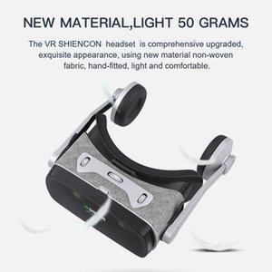 Lenti VR Shinecon Casque Viar Occhiali 3D Realtà Virtuale auricolare del casco Goggle per Smart Phone Smartphone Video Game Binocolo