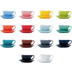 220ml Keramik Kaffeetassen Latte Cappuccino Cups Nachmittag Tee Becher Mit Untertasse Geburtstag Kaffeetasse Set