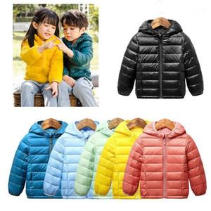 Enfants Hiver Down Down Warm Veste Enfants Léger Ultra Light Manteau pour Girl Garçons 2020 Fashion Sport Veste Outwear Vêtements1