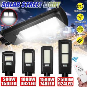 500W / 1000W / 1500W / 2500W LED solaire Éclairage extérieur Led lumière solaire polycristallins lampe étanche pour Plaza Jardin Jardin