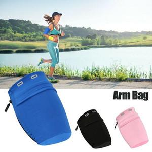 Running Arm Band Exercise Case 2020 Gym Belt Wrist Pouch Phone Case Bag Wrist Arm Bag Elastic Mobile Phone Armband Sports Unisex