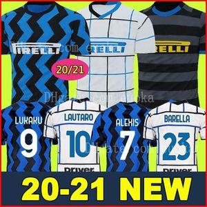 INTER MILAN 19 20 21 Thailand LUKAKU ERIKSEN Camiseta de fútbol ERIKSEN LAUTARO Inter Milan 2019 2020 2021 Camiseta de fútbol BARELLA SENSI AMBROSIO camiseta de fútbol