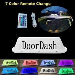 Notordash Taxi Top-Licht-LED-Dach-helles glühendes Auto-Logo Wireless Zeichen Top-Licht für Taxi-Fahrer