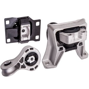 3Pcs Engine Motor & Transmission Mount Set fits for Ford Focus 2.0L L4 2008 2009 2010 2011 for Automatic Trans for A5495 A5322 A2986