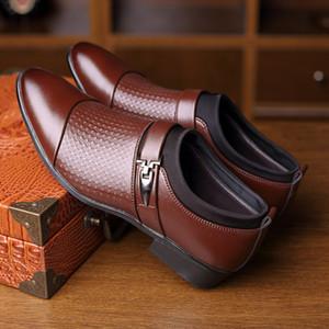Men's dress shoes Leather Men Formal Shoes Large Size Fashion Men Classic Business PU Shoes For Gentleman Sneakers LJ201123