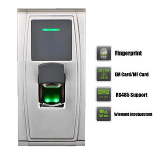 TCP IP RS485 USB Outdoor IP65 Waterproof 125KHZ RFID Biomtric Fingerprint Time Attandance Access Control device
