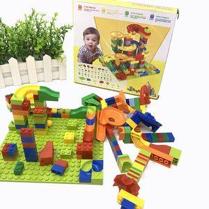 DIY Technic Creator Slide Building Blocks Architecture Desk Ball Christmas Birthday Gift For Children Educational Toys