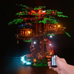 Kyglaring LED Kit de lumière pour idées série 21318 Treehouse (seul kit de lumière inclus) 1008