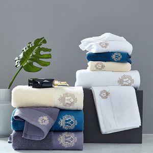 New High-grade cotton Towel set bathtowel + facetowel set soft bath face towel handtowel Bathroom towel sets