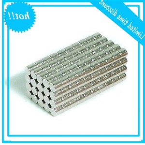Wholesale - In Stock 200pcs Strong Round NdFeB Magnets Dia 3x3mm N35 Rare Earth Neodymium Permanent Craft DIY Magnet Free shipping