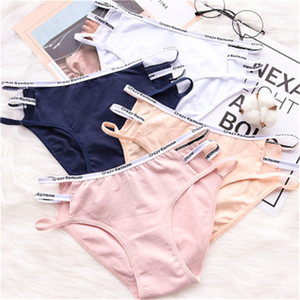High Quality Organic Sexy Lingerie Girls Panties Fashion Cotton Thongs Briefs Seamless Girls Underwear Intimate Girl Clothing Y0126