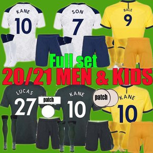 2020 2021 Kane Son Bergwijn Bale Soccer Tehersys 20 21 Lucas Spurs Dele Tottenham Men Kids Sets Bale Ndombele Футбол для футболки Униформа