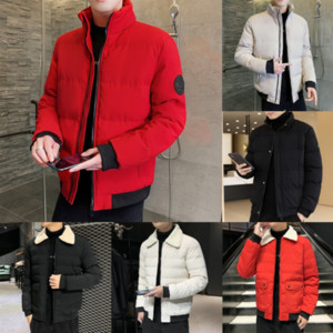 Khmmens down winter wing street jacket high quality jackets fabric fabric classic Comfortable breathable Letter logo chest down