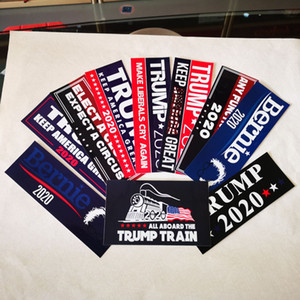 Car Stickers US Presidential Election Trump Sticker Car Sticker Bumper Sticker 8.98*3 inch Factory Stock DHL Free Of Charge