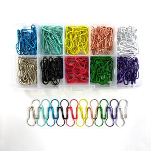 300 PCS10 perni colori pera lampadina a forma di spille di sicurezza buono per gioielli Stitch Markers rendendo il trasporto libero