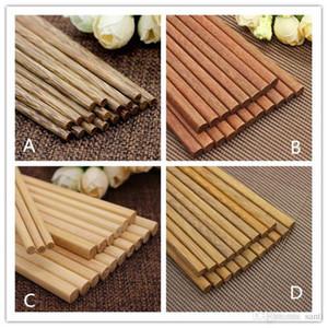 Restauration Bar japonais en bois naturel bambou Chopsticks Santé Sans Laque Wax Art de la table Vaisselle Hashi Sushi chinois