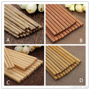 Comedor Bar japonesa de madera natural de bambú Palillos Salud sin laca Cera Vajilla Vajilla Hashi Sushi china