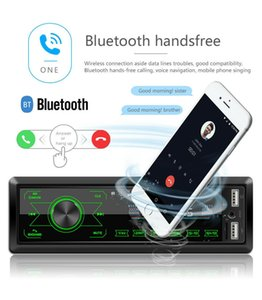 Bluetooth Car Radio MP3 Player 1 DIN In Dash 12V Audio Stereo FM AUX USB WMA