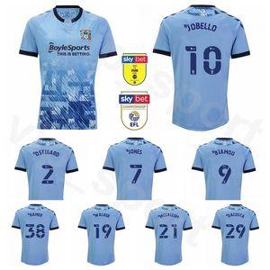 Coventry City 20 21 Soccer 11 Callum OHare Jersey 24 Matthew Godden Kyle McFadzean Gustavo Hamer Ryan John Giles HAMER Football Shirt Kits
