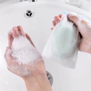 غسل الوجه الصابون الرغوي صافي حمام دش صابون نفطة فقاعة شبكة التطهير الجسم شبكات حمام غسل أداة ملحقات الحمام VT1751