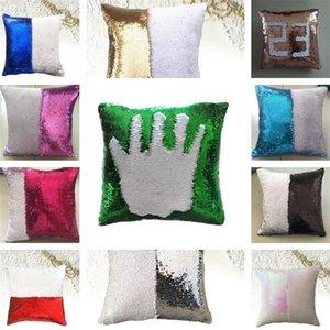 11 Renkler Magic Yastık Kılıfı Pullarda Atma Yastık Kapak Büyülü Glitter Yastık Kılıfı Ev Dekoratif Otomobil Ofis Koltuk yastık kılıfı atın