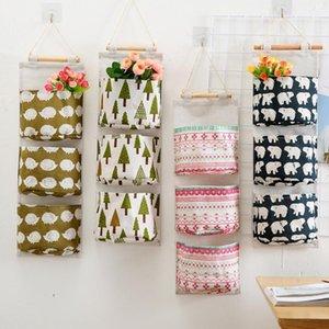 3 tasche Hanging Organizer Piccoli borse da parete porta appeso Organizer Home Storage Caso di rangement per piccole cose Pendant1