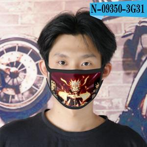 Kai Ladies Mask Cubrebocas Designer Tapabocas 08 Reusable Kai Face Cartoon For Naruto Face Naruto Mask sqcME sports2010