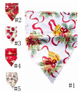 Decoración navideña Navidad Impresión de la Navidad Bandera XAMS Table Plaza Suministros Festival Decoración de regalo de escritorio GWC3018