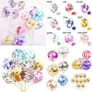 Lantejoulas balão da festa de balões de aniversário suprimentos 12 polegadas de papel poder mágico Recortes Cinco Pointed Star Fashion 0 23yc F2
