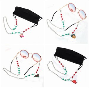 Face Mask Lanyard Extension Anti-loss Chain Christmas Glasses Convenient Safety Masks Rest Ear Holder Rope Hang On Neck String LJJP678