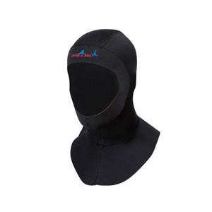 Nuova immersione SAIL DH-006 3 millimetri Spalla Sub protezione calda Surf Snorkeling Sunscreen immersioni impermeabile Copricapo, Dimensione: S