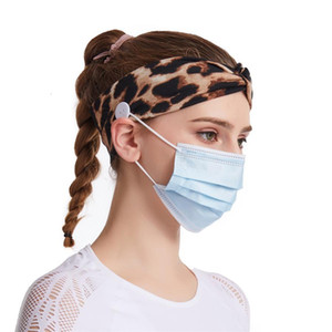 Button Headband Protect Band Headwrap Anti-tightening Ears Hair Strap Jk2006kd Headwear Mask Holder Extender