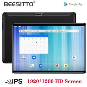 Global Version 10 inch Tablet PC Octa Core 3GB RAM 32 64GB ROM Dual SIM 4G LTE Android 9.0 OS 1920*1200 HD Screen Tablets+Gift1
