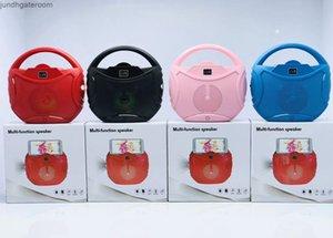 Factoryaz47Function Color Light Bluetooth Card Speaker LV8 LED Multi Function Player Mobile Phone Кронштейн Mini Audio