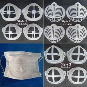 3D Silikon Parantez Ruj Koruma Pad İç Ağız Kapak Yastık Destek Solunum Maskesi Aracı Aksesuar LJJP603 Maske Standı Maske